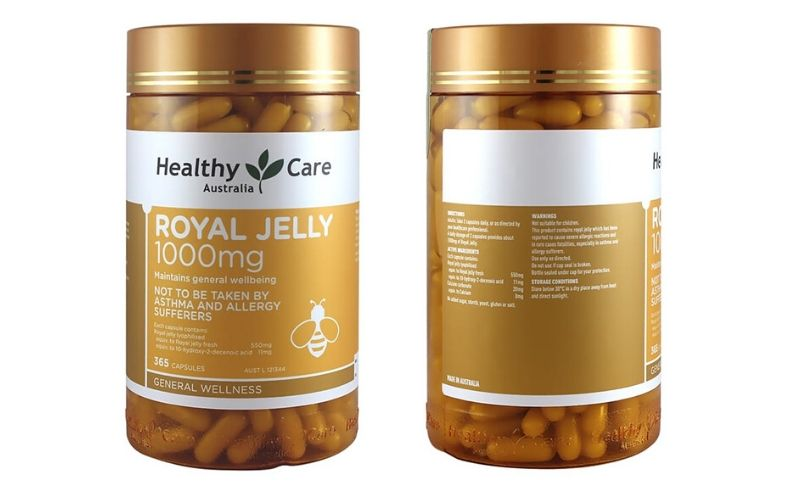 Healthy Care Royal Jelly 1000mg-Uc